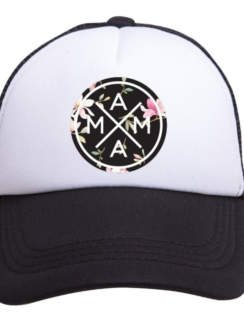 Tiny Trucker Co. Floral Mama Trucker Hat