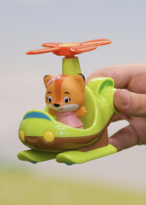 Fat Brain Toy Co Timber Tots Helicopter