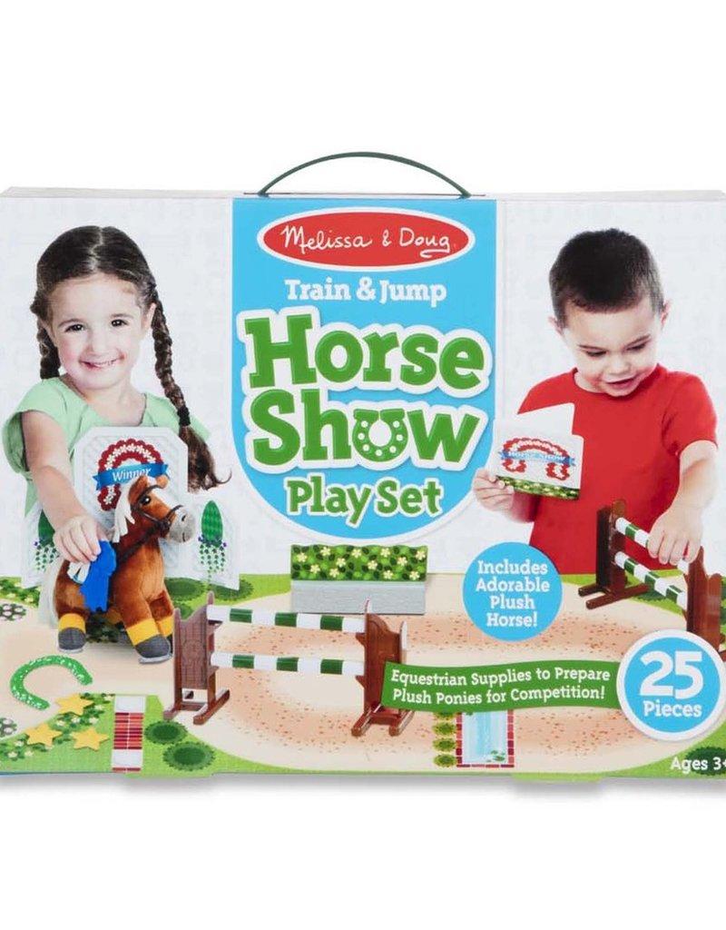 Train & Jump Horse Show Play Set