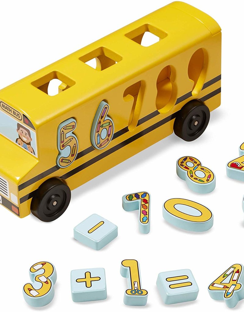 Melissa & Doug, LLC Number Matching Math Bus