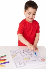 Melissa & Doug, LLC Dinosaurs Alphabet Coloring Pad A to Z