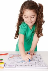 Melissa & Doug, LLC Animal Alphabet Coloring Pad A to Z