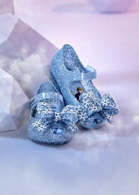 Pearl Blue Frozen Glitter Shoe