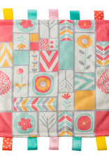Color Blocks Taggie Blanket