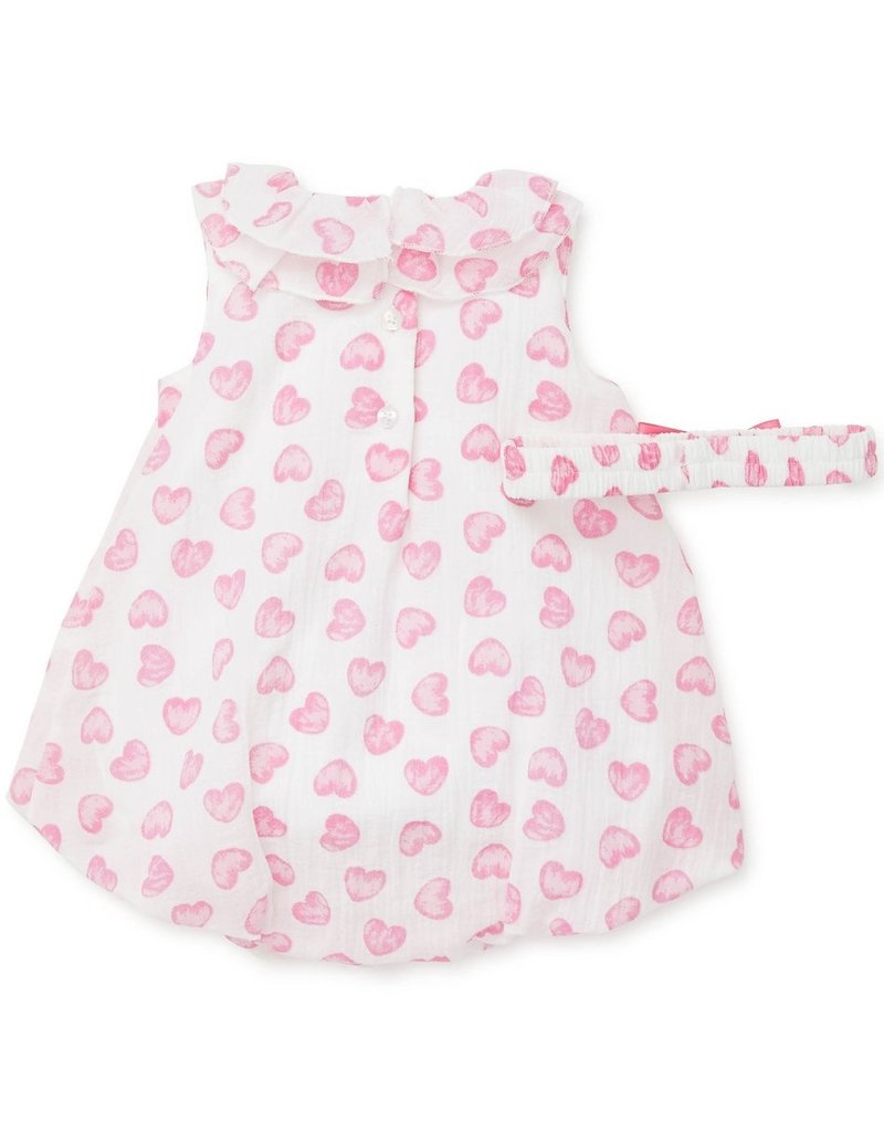 Little Me Pink Heart Bubble