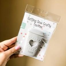 Getting Sew Crafty Coffee Teether