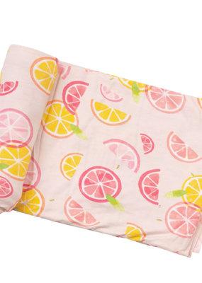 Angel Dear Citrus Swaddle Blanket
