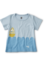 Tea Collection Set Sail Baby Tee