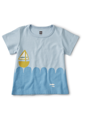 Tea Collection Set Sail Baby Tee