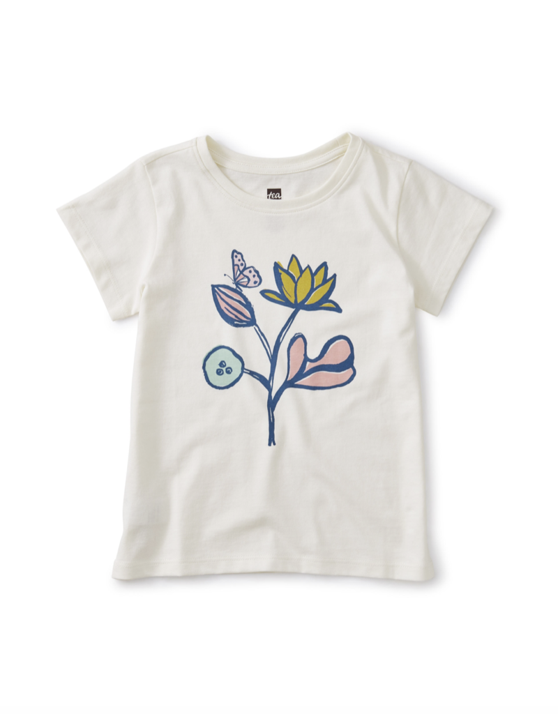 Tea Collection Flower Power Graphic Tee