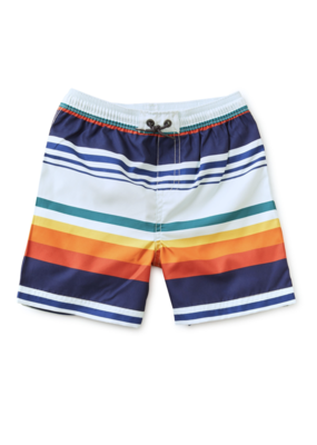 Tea Collection Mid-Length Swim Trunk