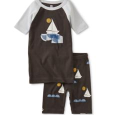 Tea Collection Graphic Shortie Pajamas