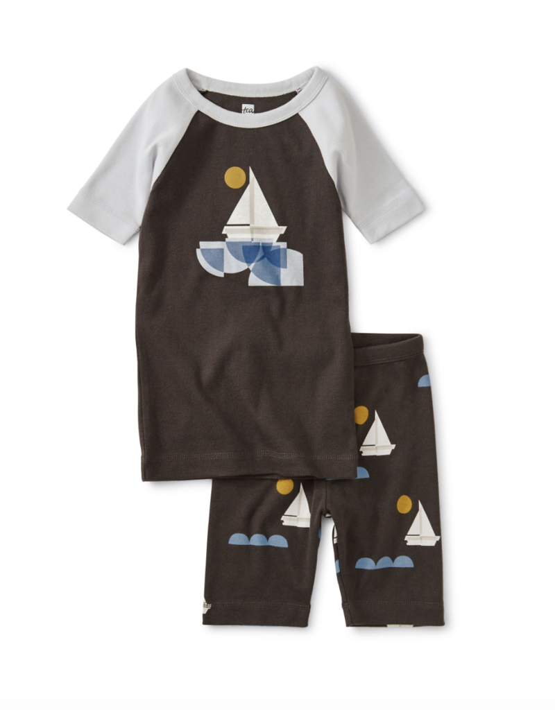 Tea Collection Graphic Shortie Pajamas