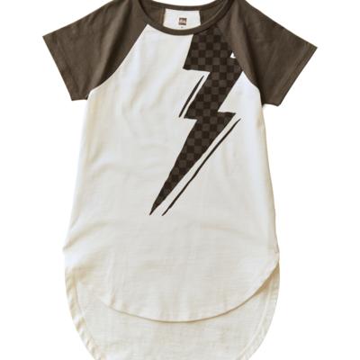 Tea Collection Lightning Bolt Graphic Tunic