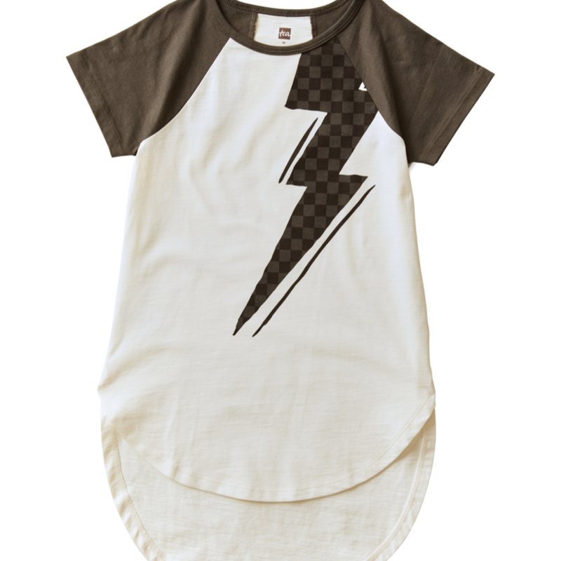 Tea Collection Lightning Bolt Graphic Tunic