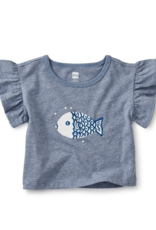 Tea Collection Into The Sea Fishy Tee