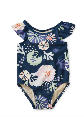 Tea Collection Sea Life Baby One-Piece