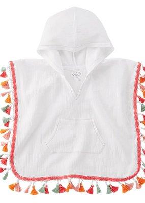 white tassel coverup