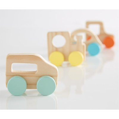 Mud Pie wood toy vehicle