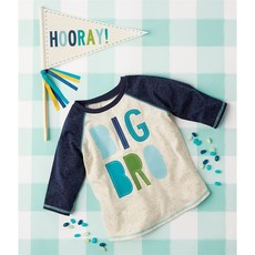 Mud Pie BIG BRO pennant Set