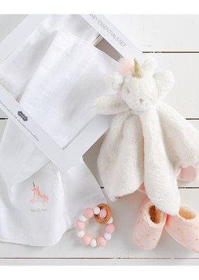 Mud Pie Unicorn Baby Gift Set