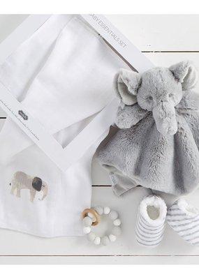 Mud Pie Elephant Baby Gift Set