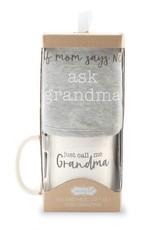 Mud Pie Grandma Bib and Mug Set