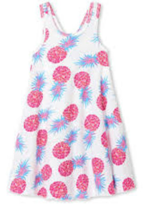 Hatley Party Pineapples Trapeze Dress