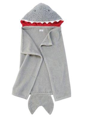 Mud Pie Shark Baby Hooded Towel