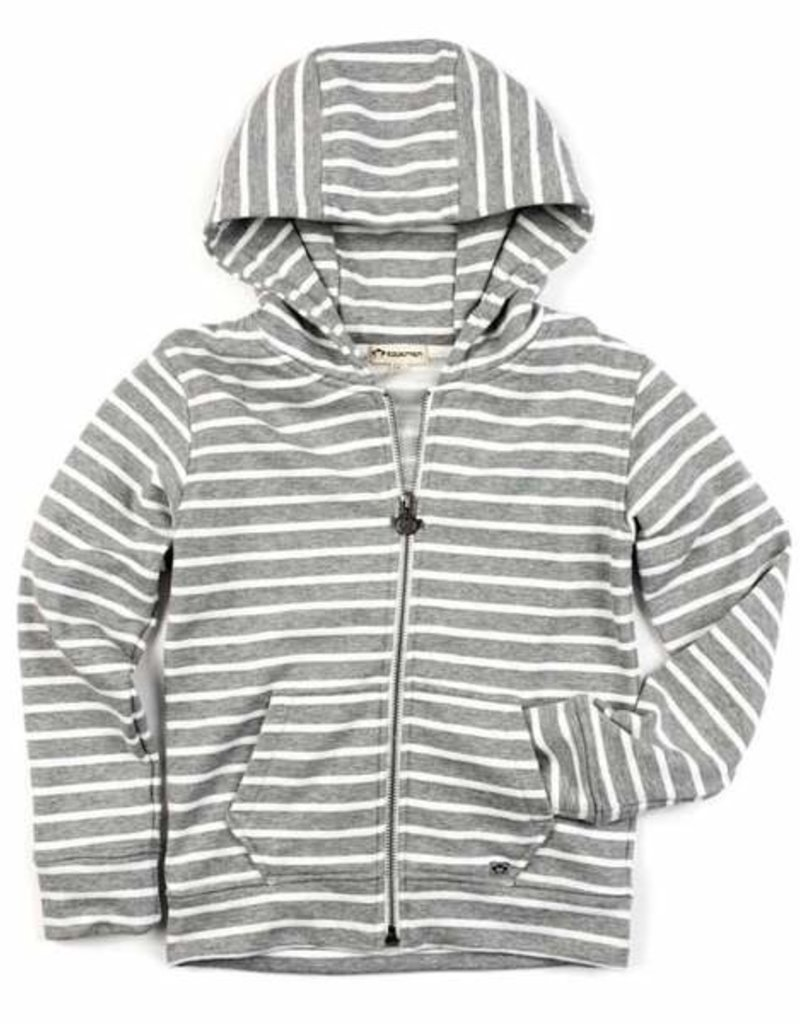 Appaman Heather Stripe Strivers Hoodie