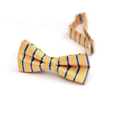 Appaman Sunshine Stripe Bow Tie