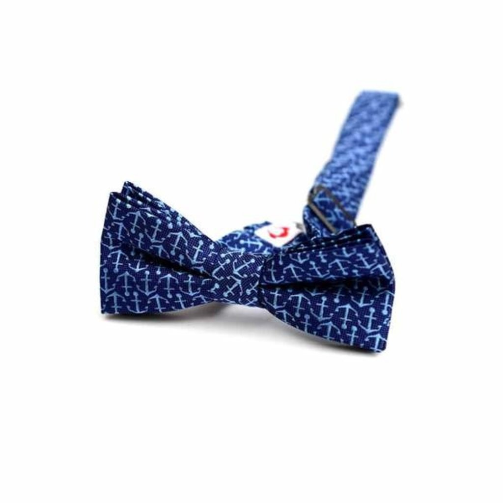 Appaman blue anchors bow tie