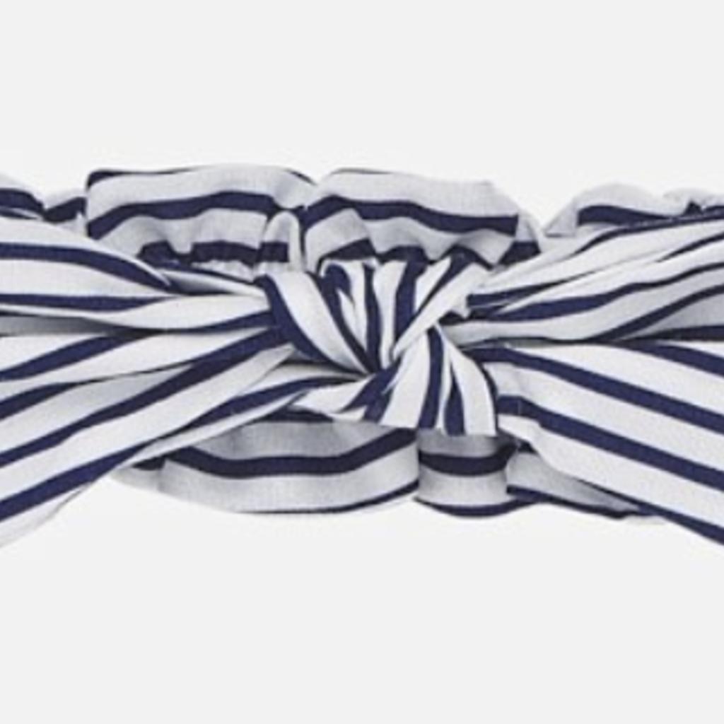 Mayoral USA Navy Stripe headband