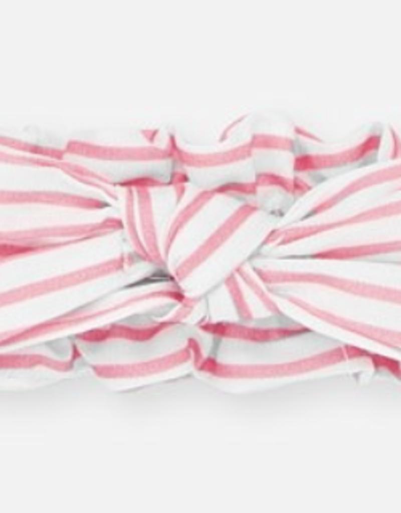 Mayoral USA pink stripe headband