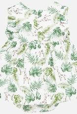 Mayoral USA Green Leaves Dress