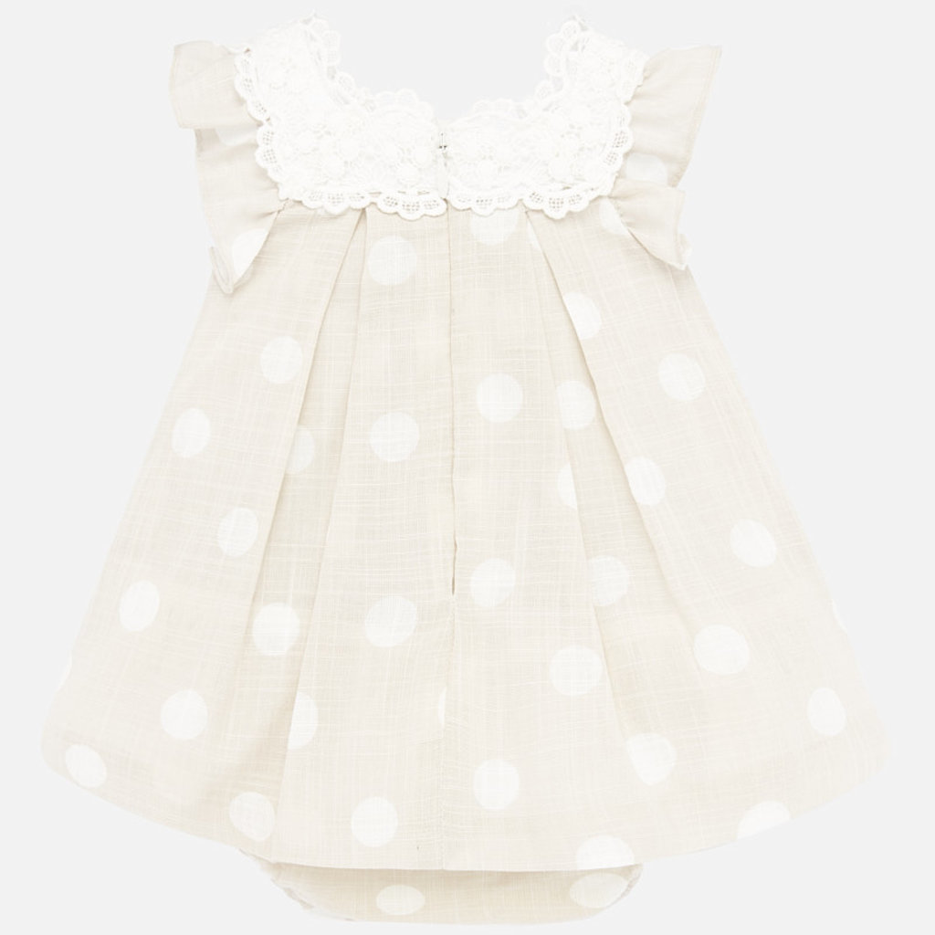 Mayoral USA Polka Dot Dress