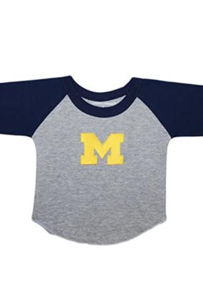 Creative Knitwear Navy Baseball Shirt