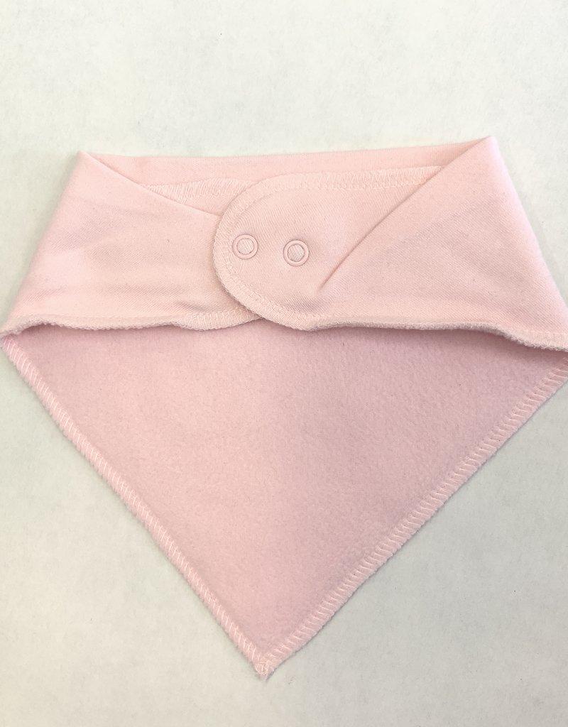 Creative Knitwear Pink Michigan Bandana Bib