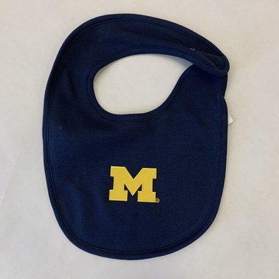 Creative Knitwear Navy Solid Michigan Bib