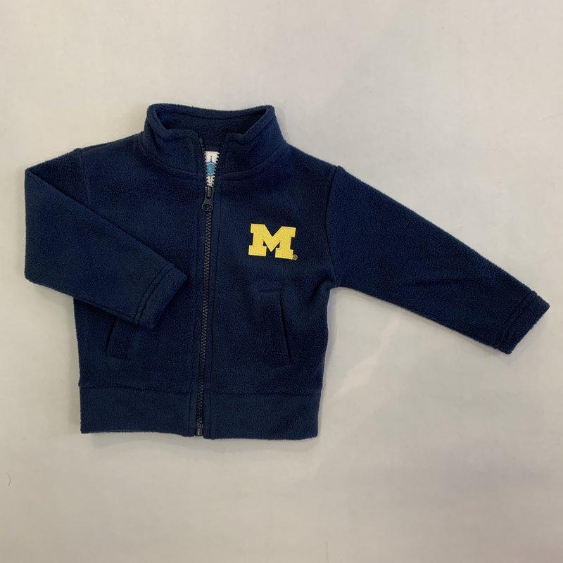 Creative Knitwear Navy Michigan Polar Fleece Jacket