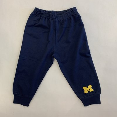 Creative Knitwear Navy Michigan Sweatpants