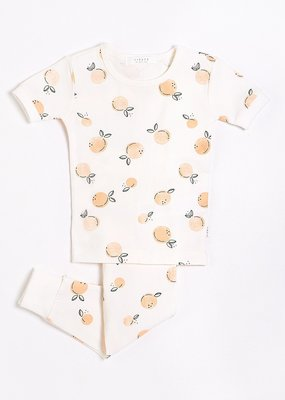 Petit lem Peaches two piece pajamas
