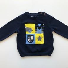 Mayoral USA Navy Car Star Sweater