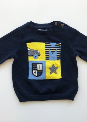 Mayoral USA Navy Car Star Sweater