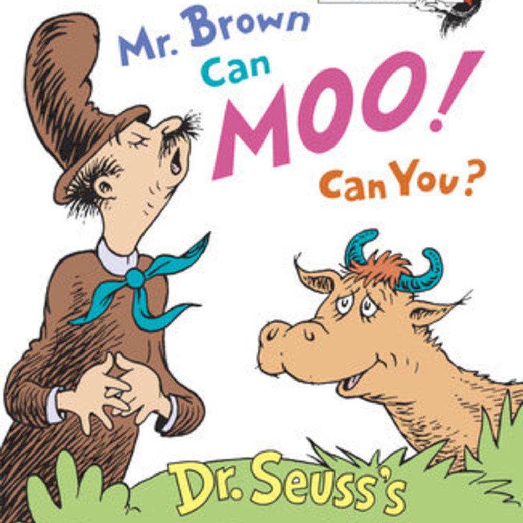 Penguin Random House, LLC MR. BROWN CAN MOO! CAN YO-RH