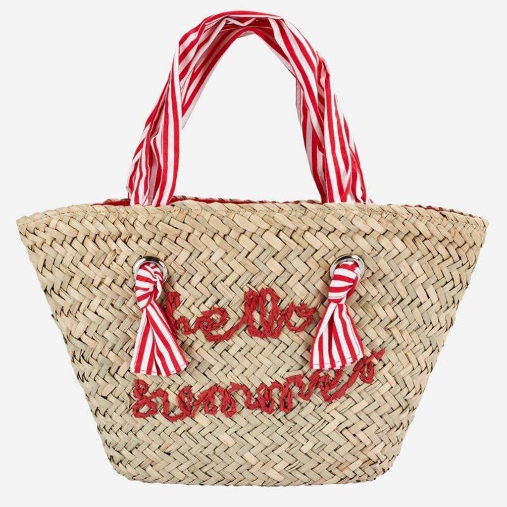 Mayoral USA Red Rafia Bag