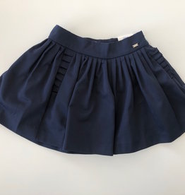 Mayoral USA Navy Pleated Skort