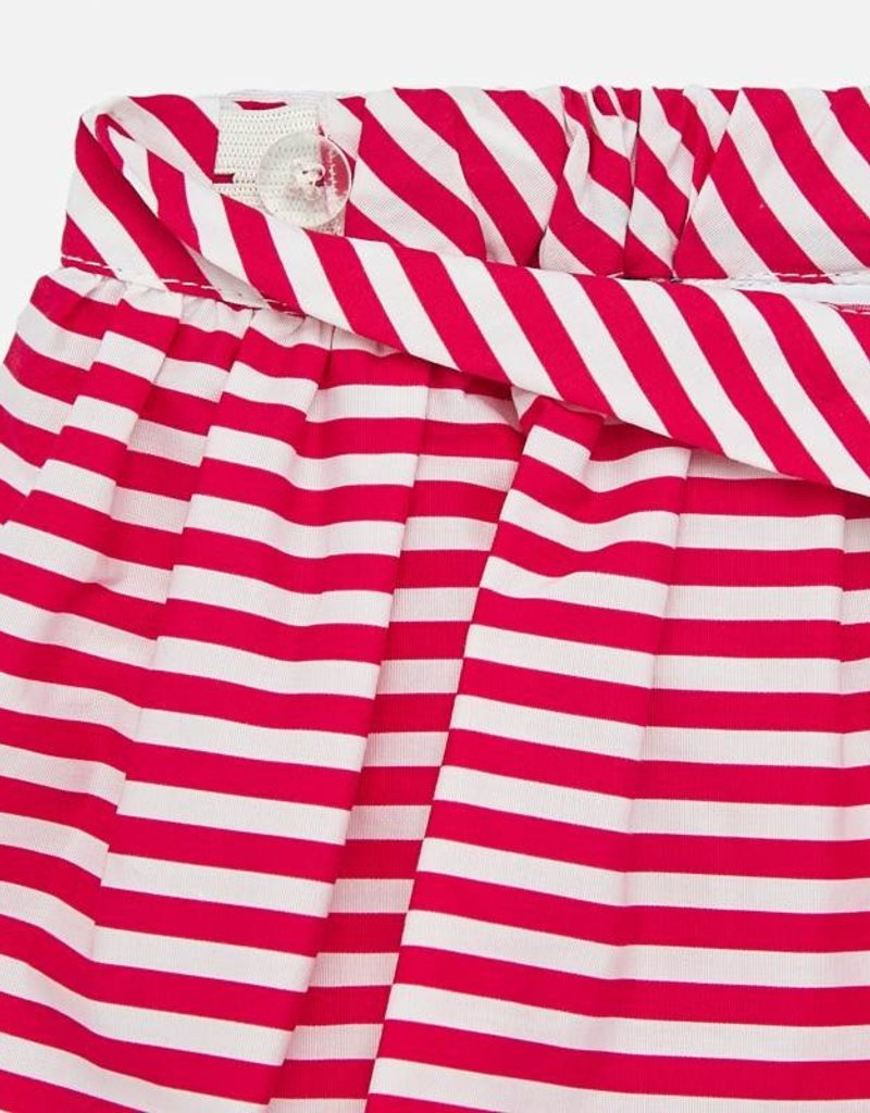 Mayoral USA Flower Stripe Skirt Set