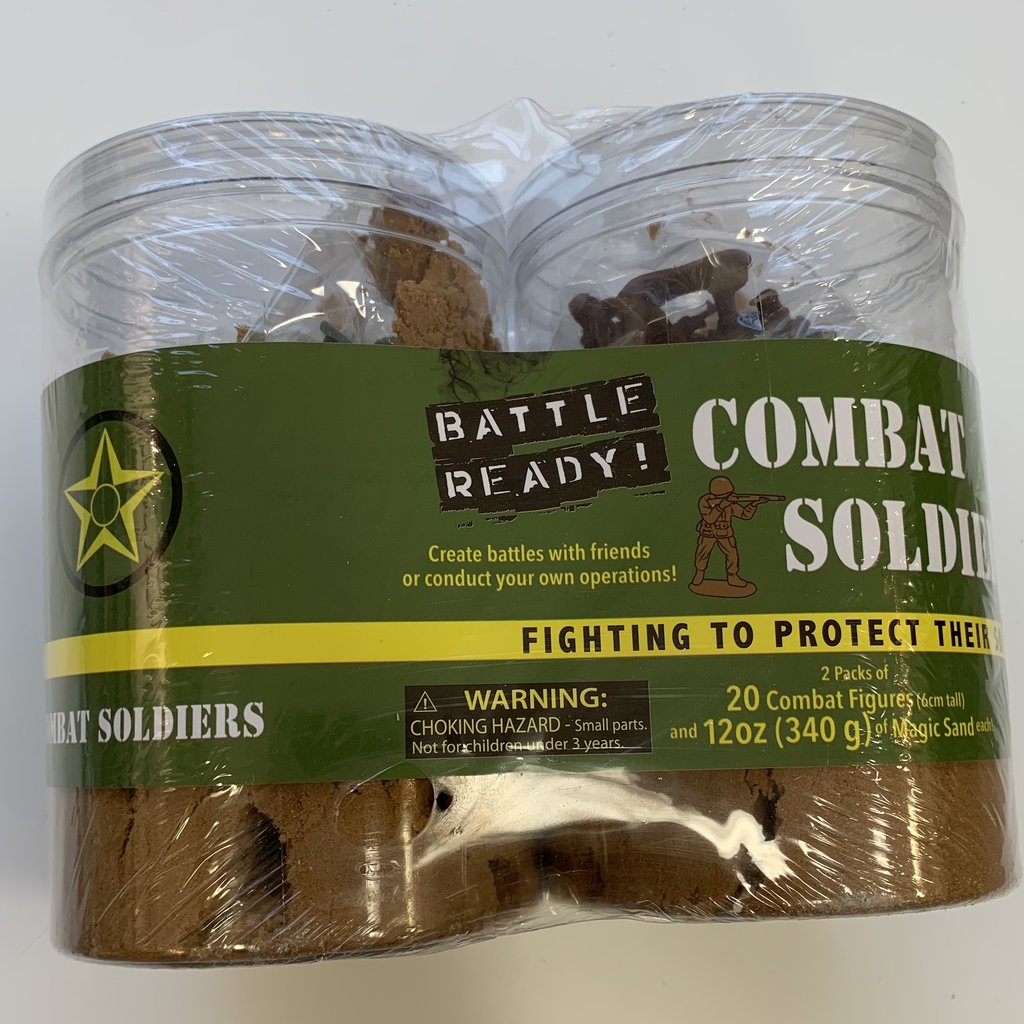 Toysmith Battle Ready Combat Soldiers
