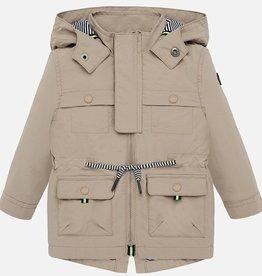 Mayoral USA Ocher Parka Coat